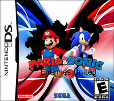 Mario and Sonic DS cover by keyblademaster113