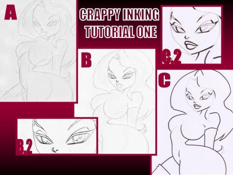 CRAPPY QUICK INKING TUTORIAL by ASSESINA