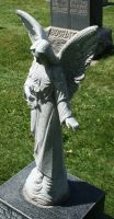 Mount Olivet Cemetery Angel 155 by Falln-Stock