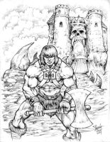 he-man defends GS by cheoillustration