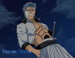 Grimmjow Arrives- BLEACH by fenyxrising