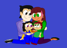 Gravity Falls - The Valentino Family by TXToonGuy1037
