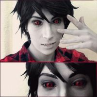 Adventure Time: Marshall Lee - demon eyes by Yonejiro