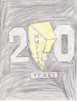 MMPR:TNG 20th Anniversary Logo by Jred20