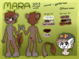 Mara Anthro Reference Sheet - Commission by WaffleCatDC