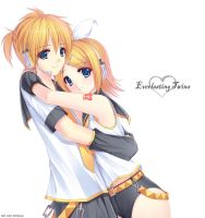 Everlasting Twins by caidychen
