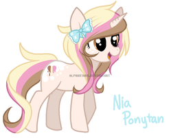 Nia Ponytan by AlphaStars