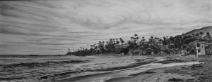 Laguna Beach - Graphite Pencils by 6re9