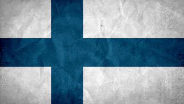 Finland Grunge Flag by SyNDiKaTa-NP