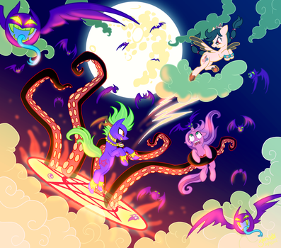Midnight Devilwitch Blingbling (And Friends) by Yamino