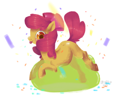 Apple Bloom by PigeonMilk