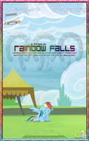 MLP : Rainbow Falls - Movie Poster by pims1978