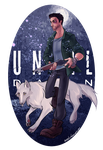 Mike and White Wolf by autodi