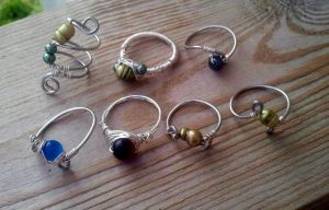 New collection of rings by WyckedDreamsDesigns