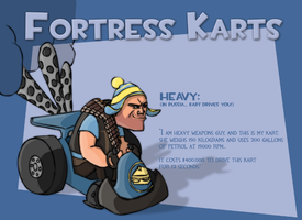 Fortress Karts - Heavy by Ludichrist