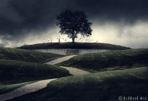 newgrange by ZedLord-Art