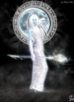 elements of supernova: star Moon by DarraChese