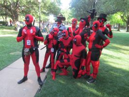 A-Kon '14 - Marvel 5 by TexConChaser