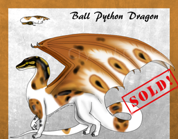 Ball Python Dragon 2 -Closed!- by CrystalCircle