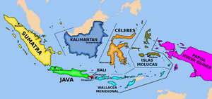 Reduction and federalization of Indonesia by matritum