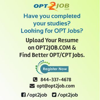 training and placement for opt cpt Learn more about the free training and placement assistance with free accommodation in nj & tx for cpt/opt free training and placement assistance with free.