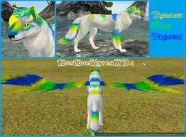 Rainbow Wolf Preset by BlueBRogue