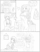 Washroom Mayhem Pg.1 by cartoonwedgielover