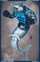 Shark Wahlburg by mastafuu