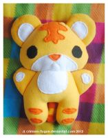 Megan's Baby Tiger Plush by pookat