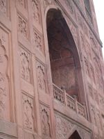Balcony at Red Fort Stock by MicheleHansen
