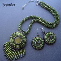 Ethnic Green by jagienkaa