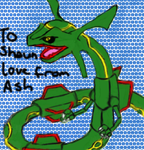 Rayquaza for my lil bro by Knucklesizgazangsta