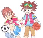 Digimon 2.5 Summer Contest (Writing): 2ND PLACE by CherrygirlUK19