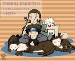 500 hits: Inuzuka siblings by Junez-chan