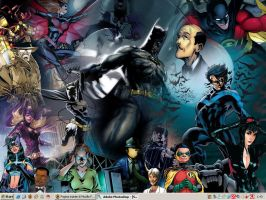 Batman Family Desktop by Ciro1984