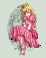 Princess Peach by its-jst-me
