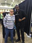 Me and Chad Coleman by Soraply11