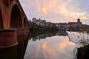 Albi sunset by OlivierAccart
