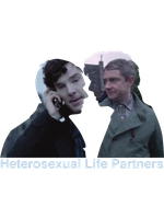 Heterosexual Life Partners by JustAMadGirlInABox
