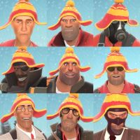 TF2 Winter avatar pack by adamayo