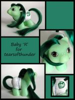 Baby 'R' for tearsofthunder by Sweetlittlejenny