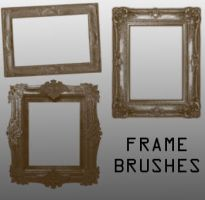 Photo Frame Brushes by remygraphics