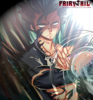 Fairy Tail 446 - Gray Fullbuster demon slayer by Hitomi8881