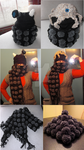Reversible Dalek Hat and Scarf by TheSerialKnitter