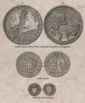Great Seal and Coins of the English Commonwealth by edthomasten