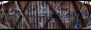 inside the covered bridge by istarlome