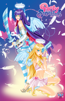 Panty and Stocking Overlay Line by phoenixcrash