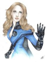 Invisible Woman by davidgozu