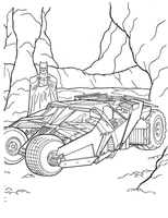 Techincal Battank in Cave with Bale!Batman by Writer-Colorer