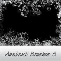 abstract brushes 3 by reven94